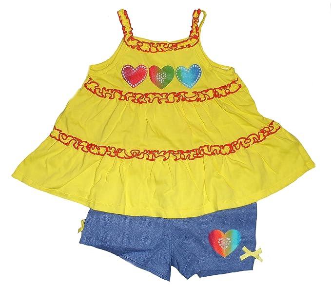 Amazon.com: Niños Sede bebé Girl s Círculo, Corazón Cuello ...