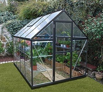 Palram Serre De Jardin Hybride En Aluminium 6 X 8 250 X 185 X
