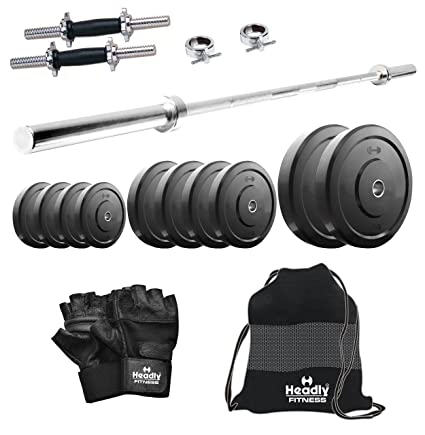 Headly 10kg Combo 10 Home Gym Exercise Sets