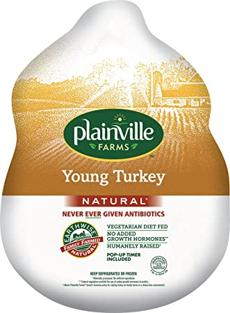 Plainville Farms, Whole Turkey, 16-18 lbs (Fresh)