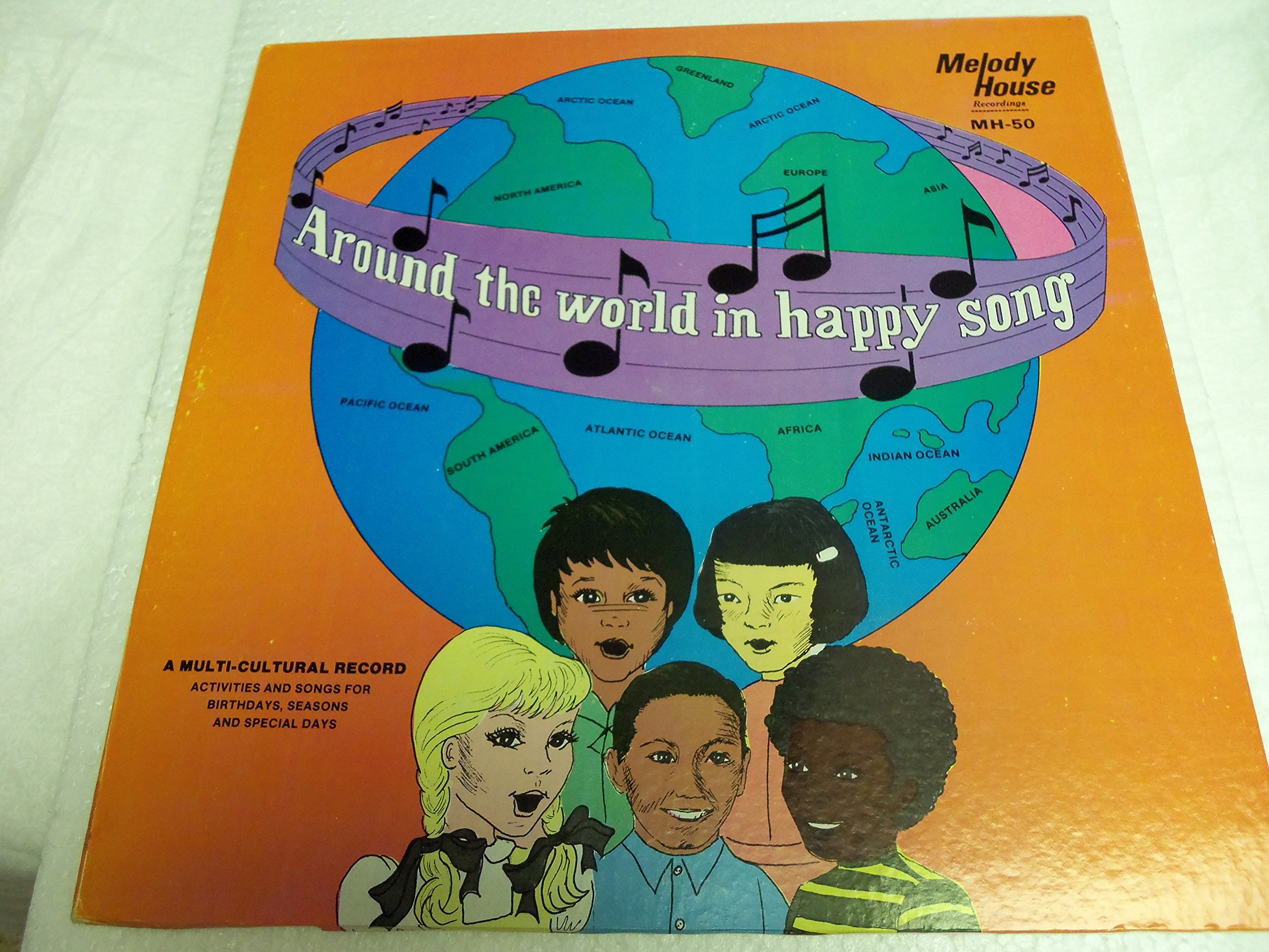 Around the World in Happy Song - A Multi-Cultural Record
