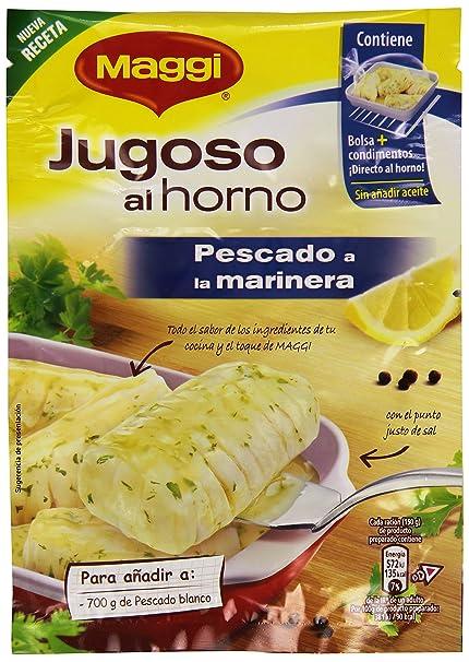 Maggi - Jugoso Al Horno Pescado A La Marinera 24 g
