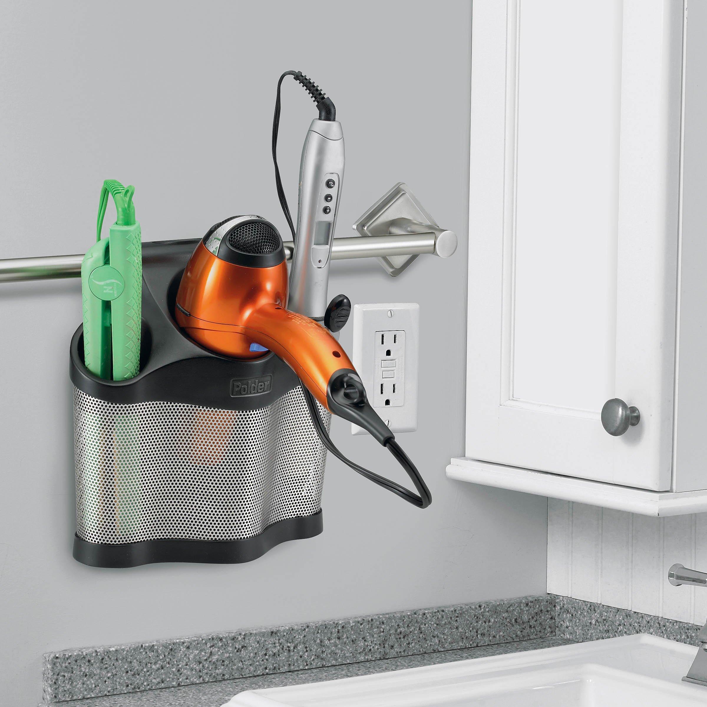 Polder Style Station Black Keep Hair Care Blow Dryer ...