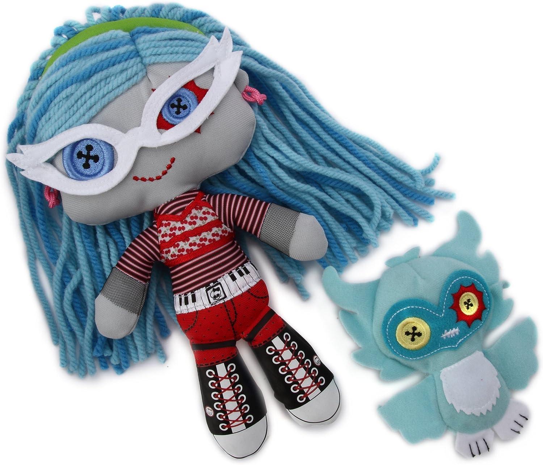Monster High W2571 - Peluche Ghoulia (Mattel): Amazon.es: Juguetes y juegos