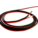 100' feet TRUE 18 Gauge AWG CCA Speaker Wire Red/Black Car Home Audio
