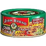 Ayam Brand Chilli Tuna, Fire Hot, 160g