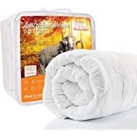 Australian Made Merino Wool Quilt / Doona / Duvet 500GSM (140x210cm Single)