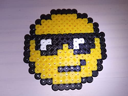 Smiley Pixel Art Perler Beads Ironing Pearl Amazonco