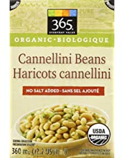 365 Everyday Value Organic Cannellini Beans No Salt Added, 12.2 oz