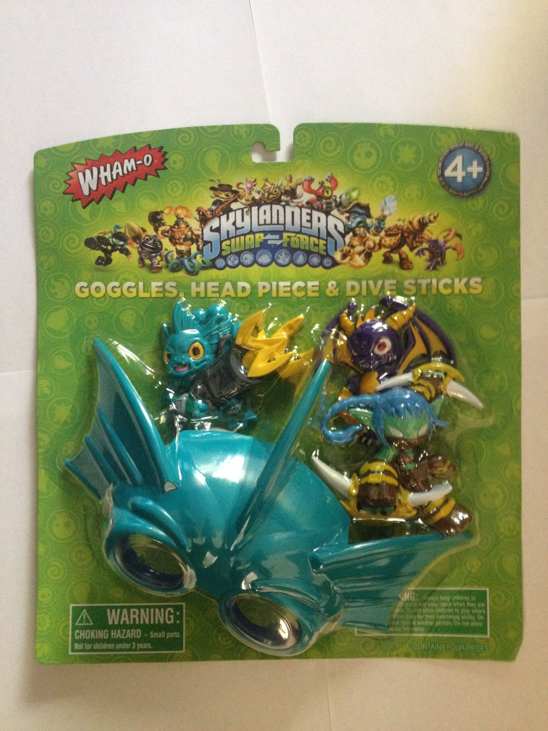Skylanders Swap-force Goggle and Dive Stick Set by The Wish Factory