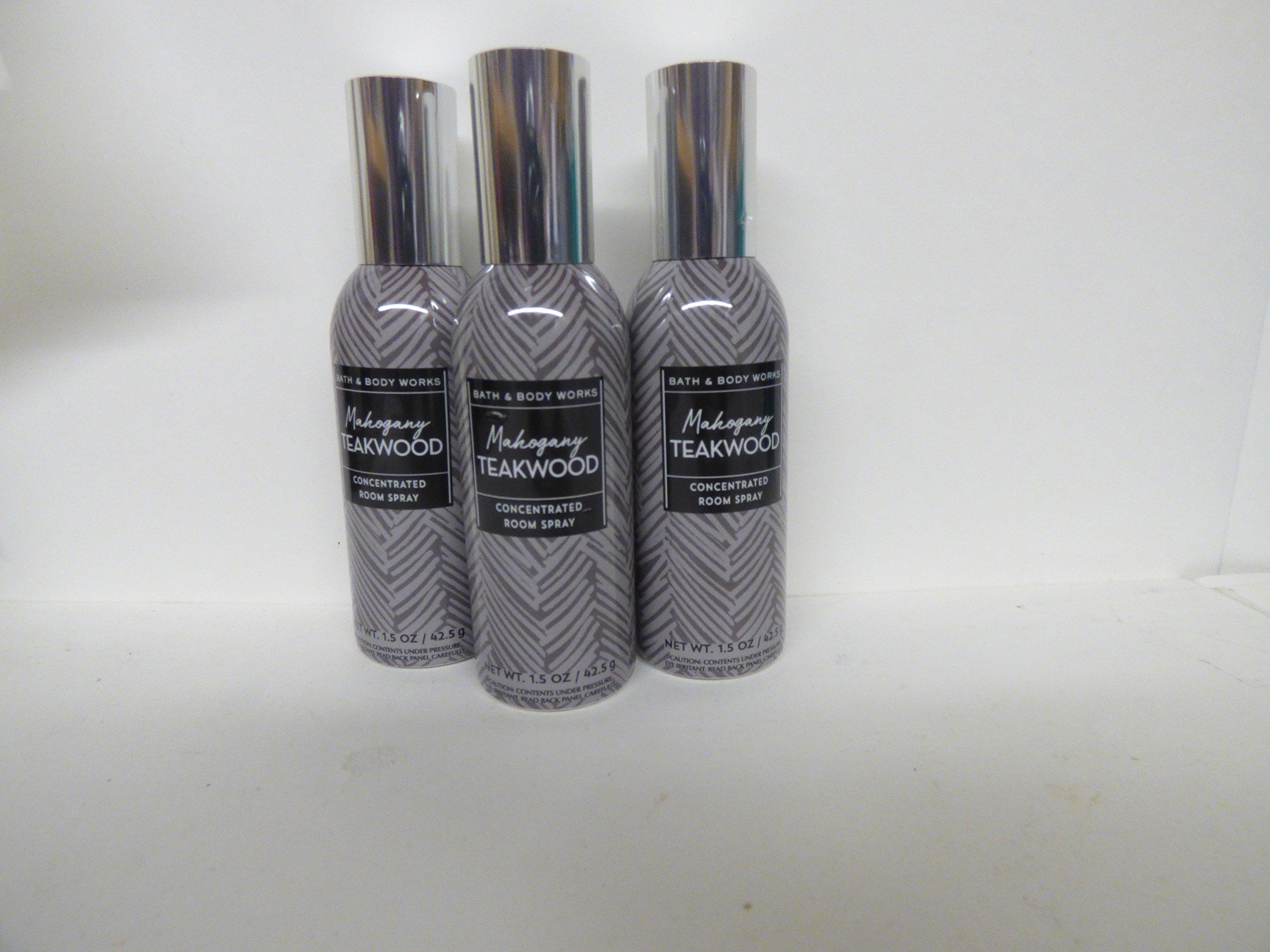 Bath & Body Works Mahogany Teakwood Room Spray - Lot of 3