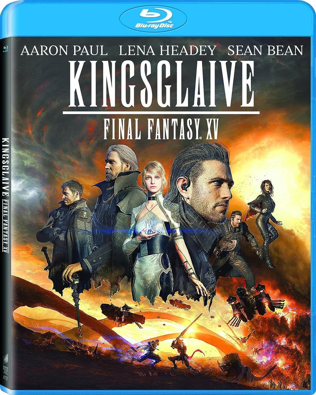 Amazon Com Kingsglaive Final Fantasy Xv Blu Ray Aaron Paul