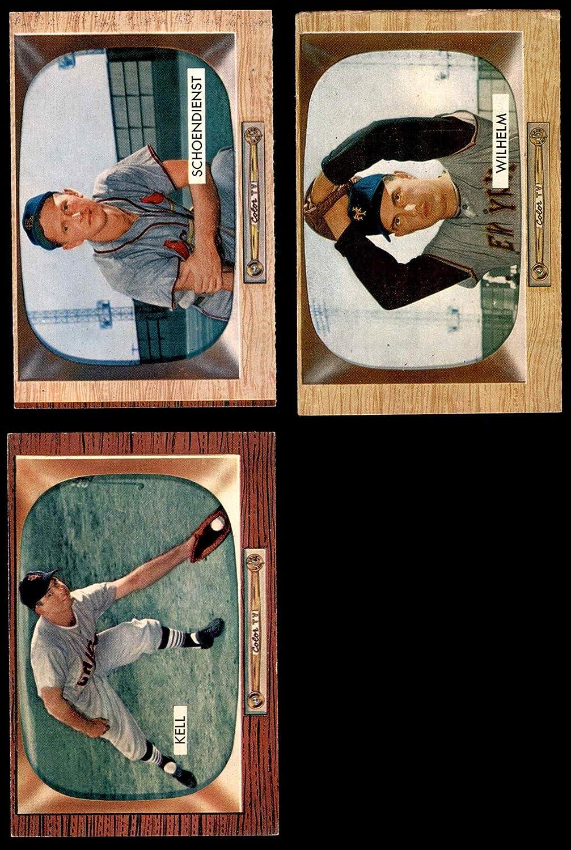 1955 Bowman Baseball 50 Card Starter Set/Lot (Baseball Set) Dean's Cards 4.5 - VG/EX+
