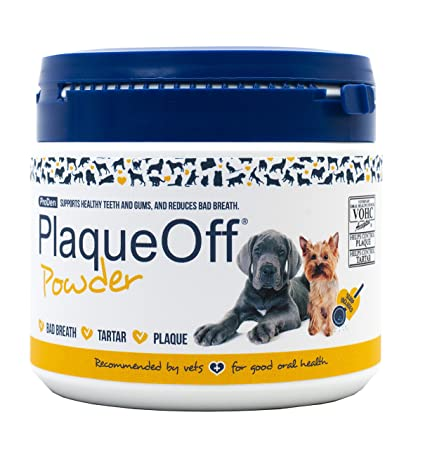 PLAQUE OFF POWDER FOR DOGS