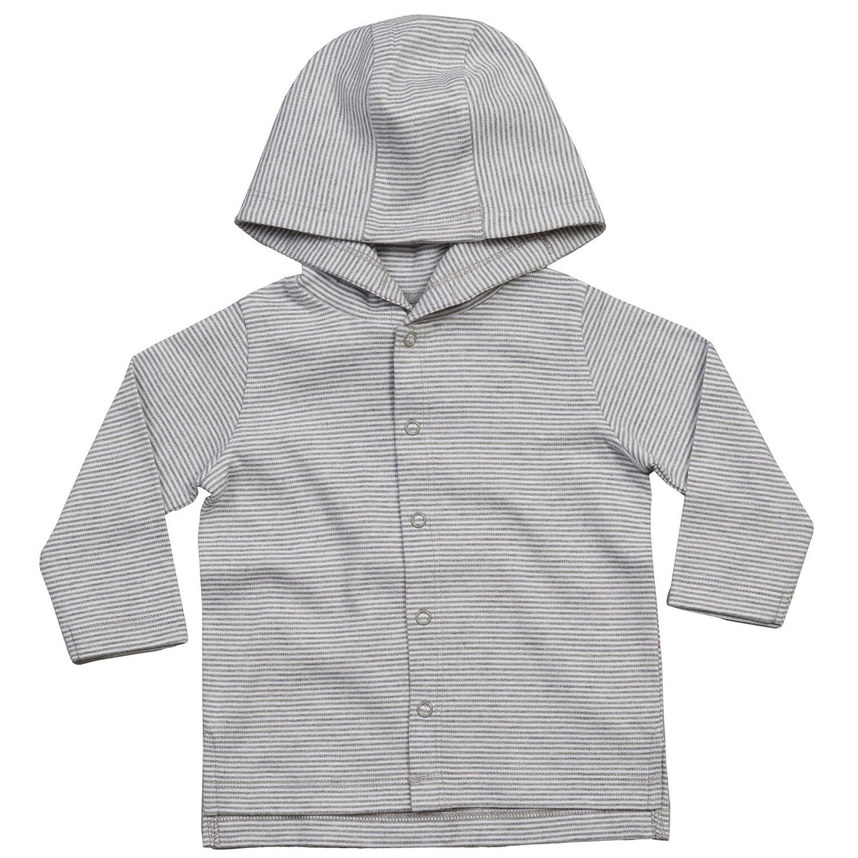 BABYBUGZ Baby Boys Striped Hooded T-Shirt