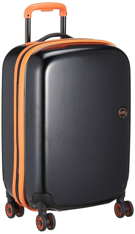 [ロジェール] スーツケース機内持込可 保証付 35L 55cm 2.6kg NIMBUS-S B0763MM5R4オレンジ/ブラック