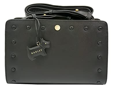 4546a911a Image Unavailable. Image not available for. Colour: Radley Liverpool Street  Medium Zip Top Cross Body Bag Black