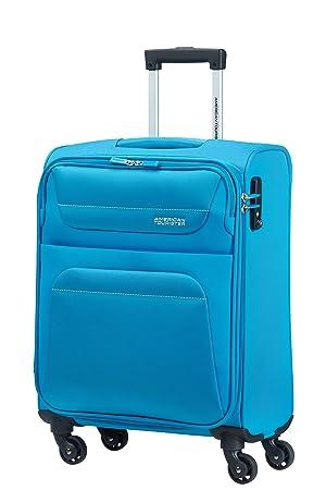 American Tourister - Springhill spinner equipaje de cabina, turquesa (sky blue), S (55cm-38L): Amazon.es: Equipaje