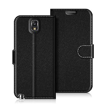detailed look 2981e 4afad Samsung Galaxy Note 3 Case, Coodio Galaxy Note 3 Leather Case, Samsung  Galaxy Note 3 Wallet Case, Magnetic Closure Flip Folio Case Cover [Wallet  ...