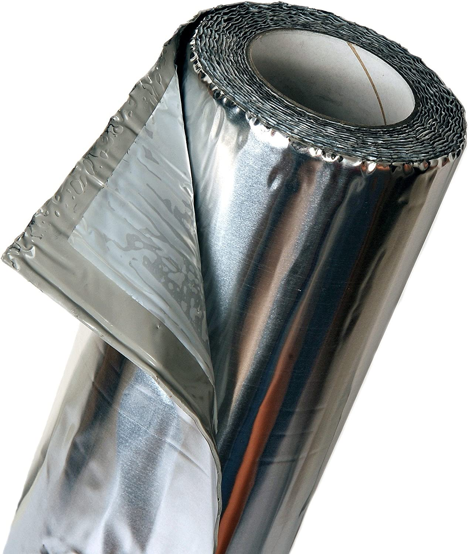 FatMat MegaMat 70 mil Butyl Self-Adhesive Sound Deadener 100 SqFt W//Tools Silver