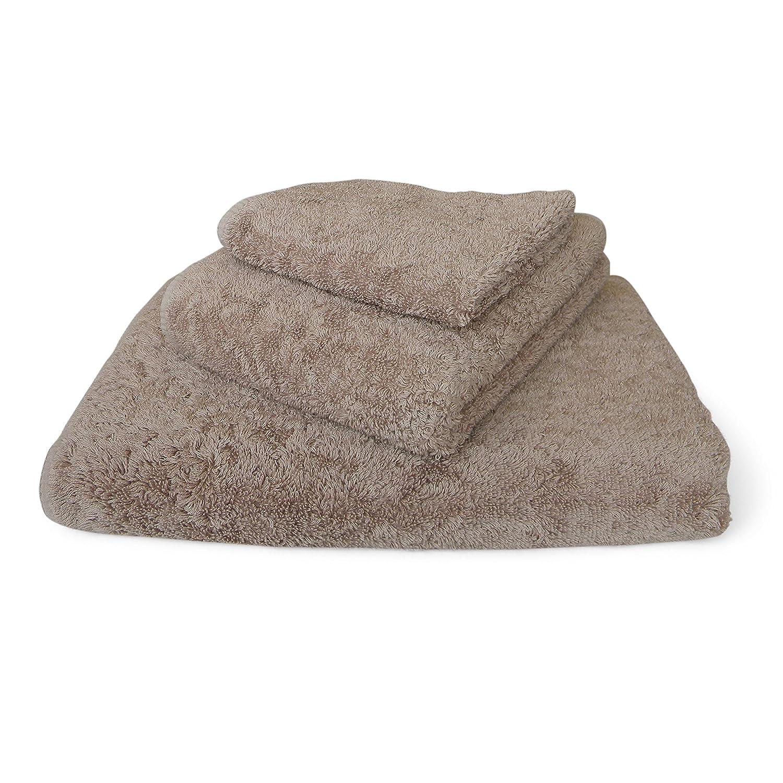 graccioza largo doble loop toalla colección - Piedra - , fabricado en Portugal, 700-gsm, 100% algodón egipcio: Amazon.es: Hogar