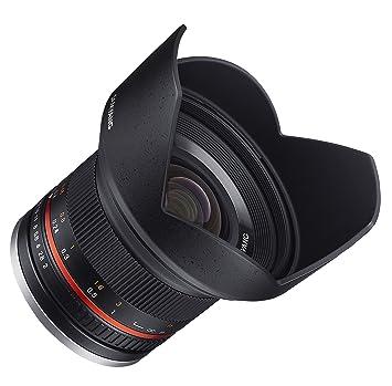 Samyang SY12M-FX-BK 12mm F2.0 Ultra Wide Angle Lens for Fujifilm X-Mount Cameras, Black Camera Lenses at amazon