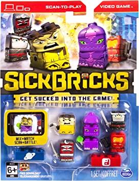 Amazon.com: Sick Bricks – Sick Team – 5 Character Pack ...