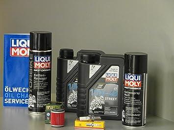 Mantenimiento y Service Set para quad Yamaha YFZ 450 aceite de ...
