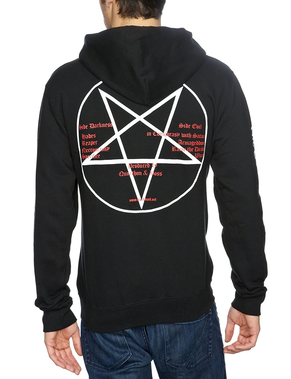 Amazon.com: bathory goat new official mens pullover hoodie all sizes: Clothing