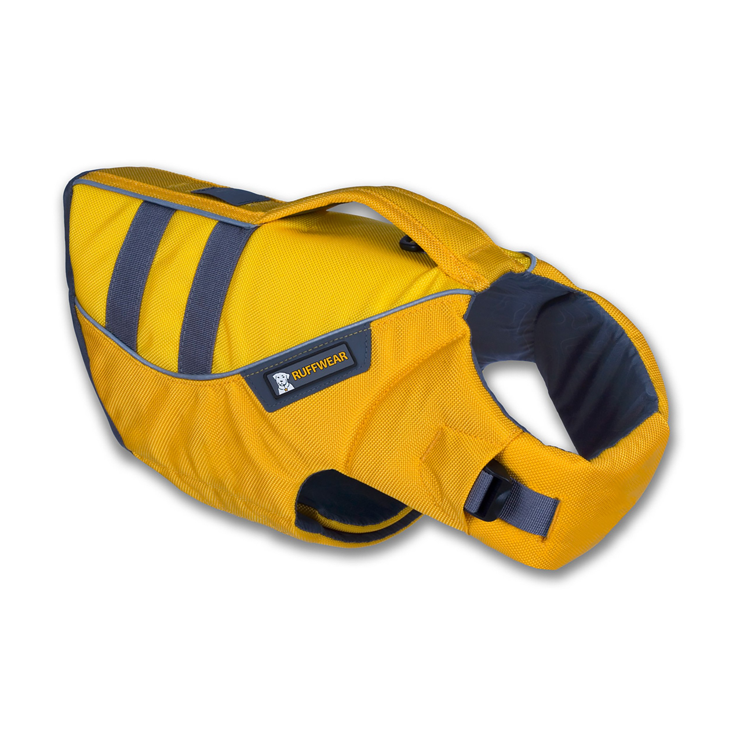 Ruffwear - K-9 Float Coat for Dogs, Buoyant, Secure, Reflective, Dandelion Yellow, Large