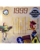 18th Anniversary or Birthday gifts ~ Hit Music of 1999 and Greeting Card ; A Time to Remember, The Classic Years -1999