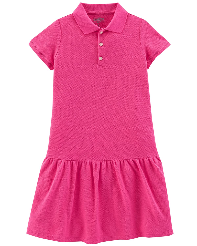 OshKosh BGosh Girls Uniform Polo Dress