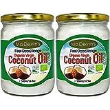 Ma Devlin's 100% Organic Virgin Coconut Oil 500ml (Pack of 2)