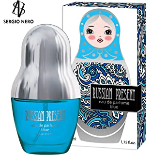 Russian Present Aceite de perfume para mujer, 5 ml roll-on ...
