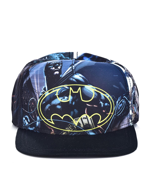 46f8f045a DC Comics The Joker Hahaha Batman Logo Sublimated Bill Snapback