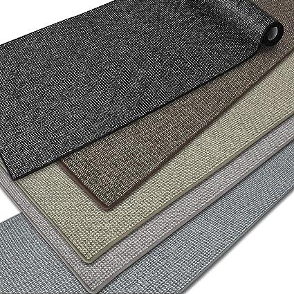 casa pura tapis de couloir tapis de passage tapis moderne en moquette boucle pour cuisine couloir passage chambre carlton gris 66x100