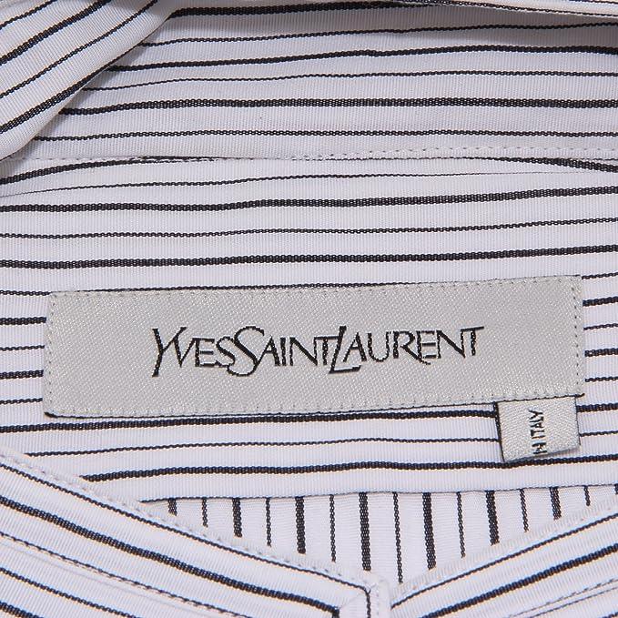 22688 camicia YVES SAINT LAURENT YSL camicie COREANA uomo shirt ...