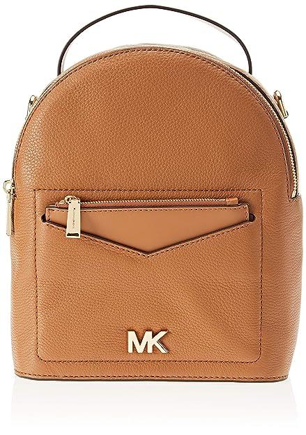 c5d17c0b2276 Michael Kors Womens Jessa Backpack Handbag Brown (ACORN): Amazon.co.uk:  Shoes & Bags