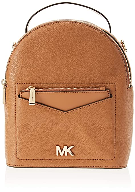 Michael Kors - Jessa Small Convertible Backpack, Bolsos mochila Mujer, Marrón (Acorn)