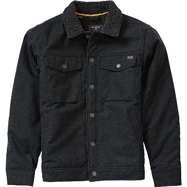Billabong Mens Barlow Wool Jacket Charcoal Large