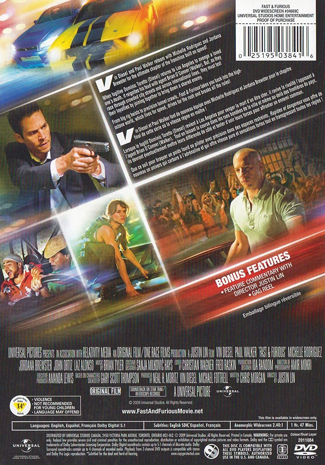 Amazon com: Fast & Furious: Vin Diesel, Paul Walker