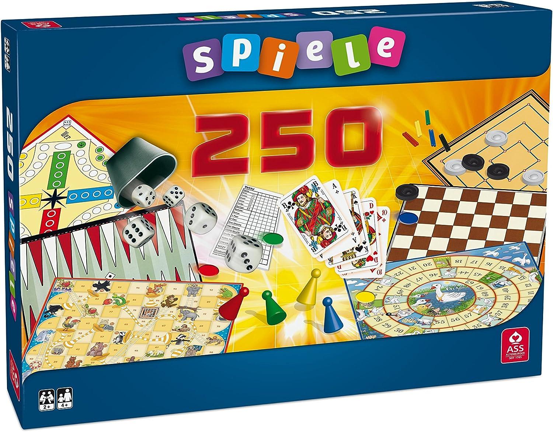 ASS Spielkartenfabrik 1341 - Kit de juegos de mesa (250 combinaciones) , color/modelo surtido: Amazon.es: Juguetes y juegos
