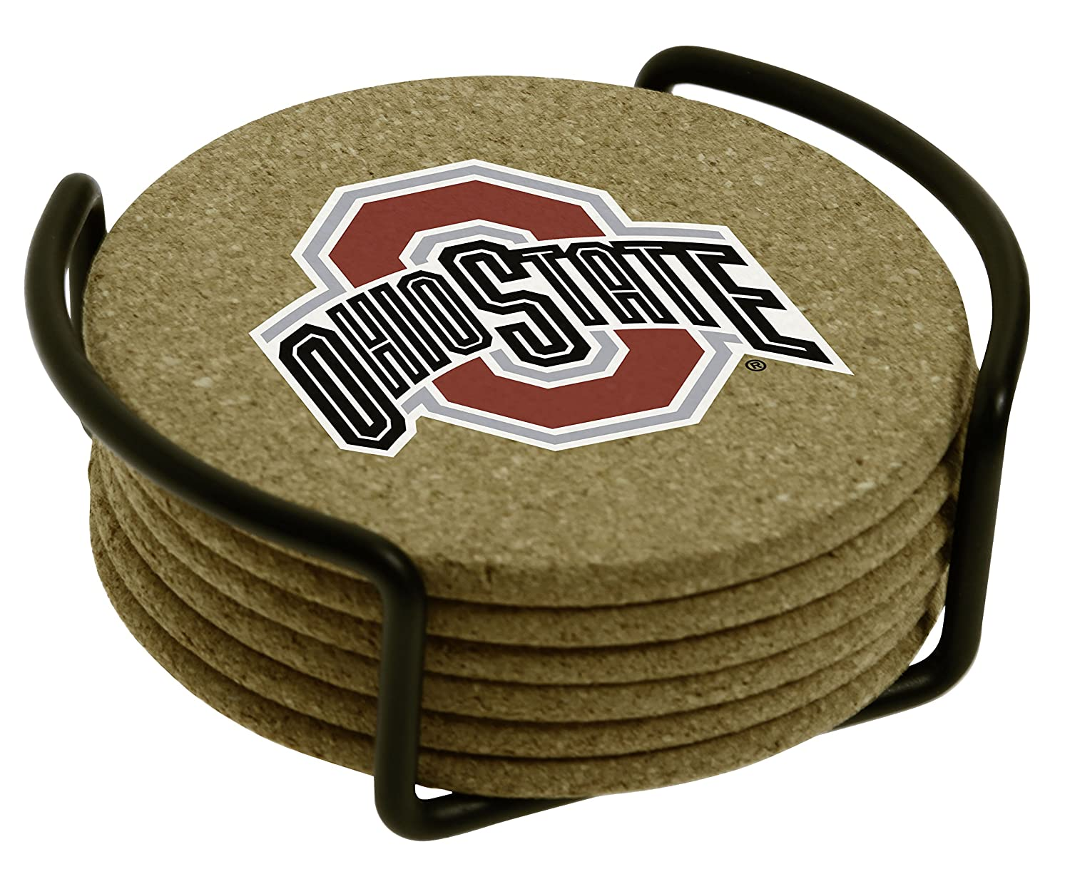 Thirstystone Ohio State University with Holder Included Cork Gift Set