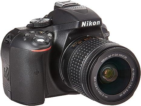 Nikon D5300 24.2 MP cámara DSLR + AF-P DX 18-55 mm & 70-300