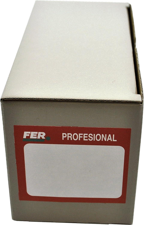 Set de 200 Piezas FER 5744 Caja Profesional Cart/ón Tornillo Cabeza Hexagonal M6x50 Zincado