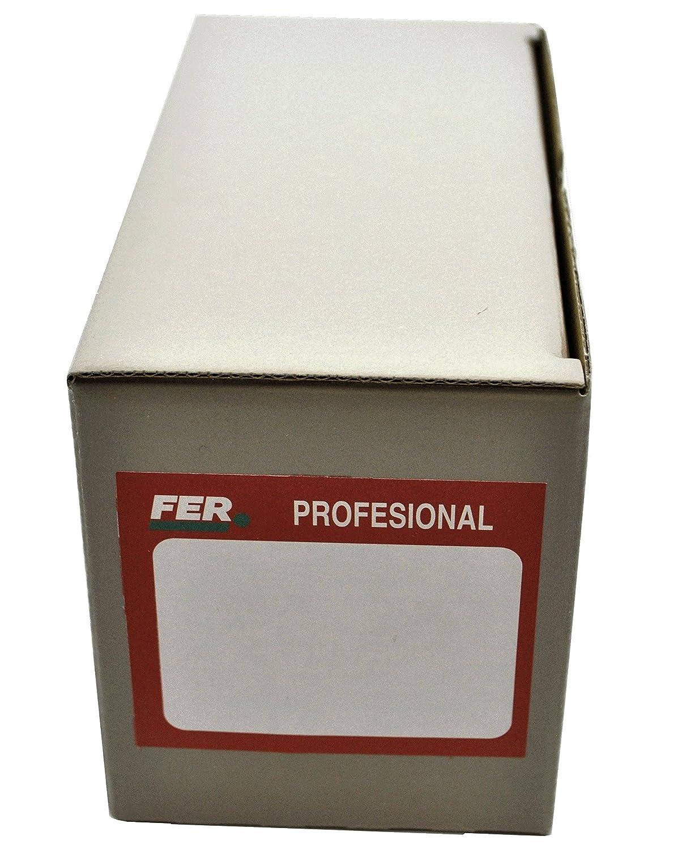 FER 5609 Caja Profesional Cart/ón Tirafondo Rosca Madera Cabeza Hexagonal 8x70 Zincado