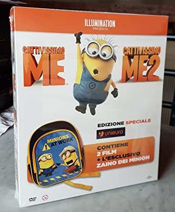 2518d2666f CATTIVISSIMO ME Collection (2 Film + ZAINO dei Minion) Ed. Italiana Limitata