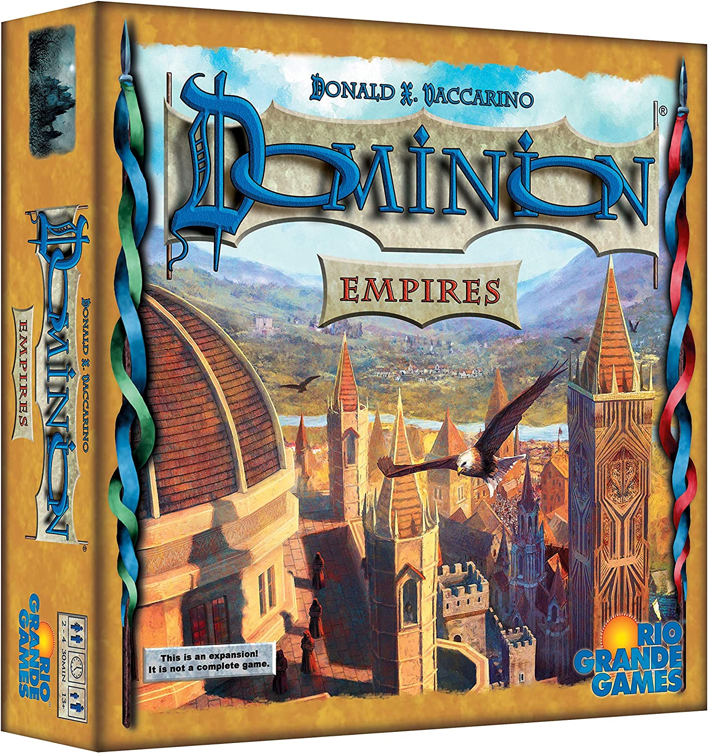 Rio Grande Games - Dominion Expansion Seaside: Amazon.es: Juguetes y juegos