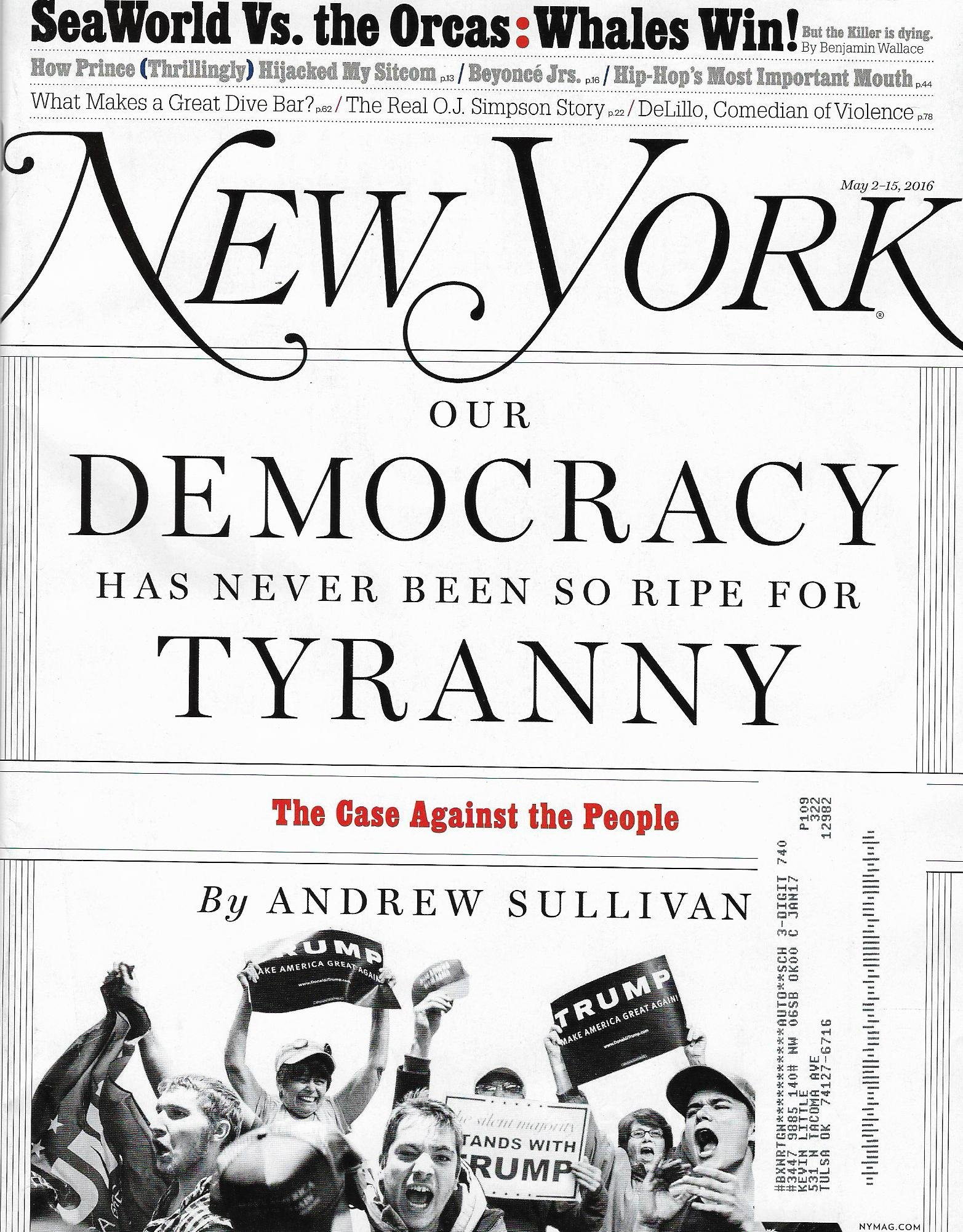 New York Magazine (May 2-15, 2016) PDF