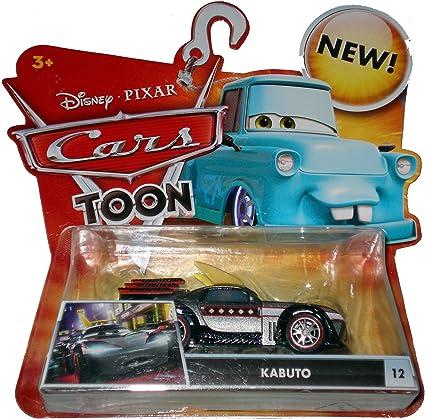 Amazon Com Disney Pixar Cars Toon 1 55 Scale Die Cast Car Kabuto Toys Games